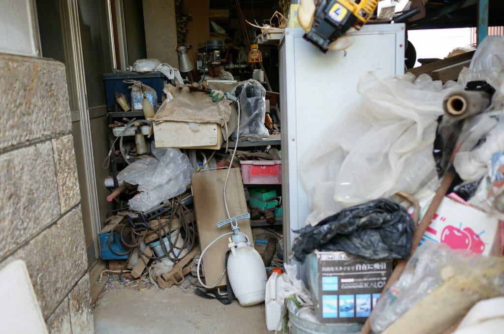 ゴミ屋敷 粗大ゴミ回収