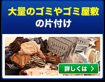 大量のゴミやゴミ屋敷の片づけ
