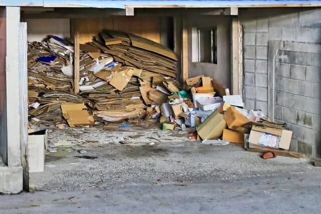 ゴミ屋敷 片付け 自力