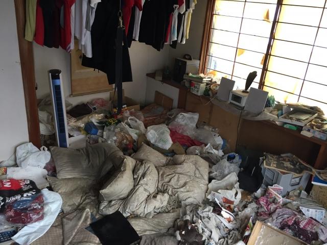 ゴミ屋敷事例